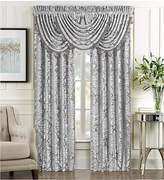 "J Queen New York Bel Air Silver 84"" x 100"" Window Drapery Bedding"