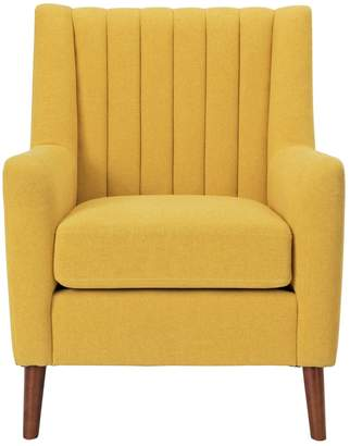 Argos Home Heidi Mid Century Fabric Armchair