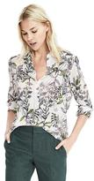 Banana Republic Dillon-Fit Botanical Print Shirt