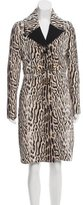 Roberto Cavalli Wool Long Coat