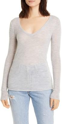 NSF Jessica V-Neck Cashmere Sweater