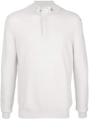 Ermenegildo Zegna textured-knit mock-neck sweater