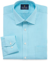 STAFFORD Stafford Travel Easy-Care Broadcloth - Big & Tall Long Sleeve Dress Shirt