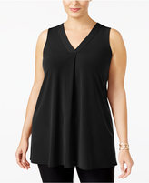 Alfani Plus Size V-Neck Tunic, Only at Macy's