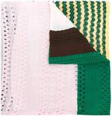 Missoni color blocked scarf