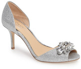 Badgley Mischka Hays Embellished Sparkling Sandal (Women)