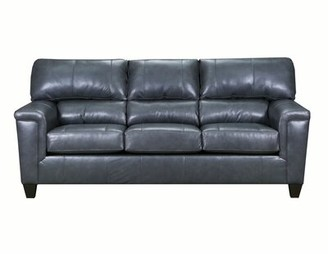 """Red Barrel Studio Thy 88"""" Square Arm Sofa Upholstery Color: Soft Touch Fog"""