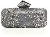 Jimmy Choo Faux Pearl & Crystal-Embellished Lace Clutch