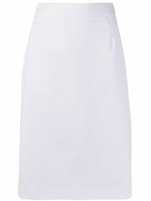 Paule Ka High Waisted Pencil Skirt