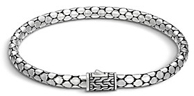John Hardy Sterling Silver Dot Small Chain Bracelet