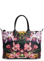 Ted Baker Large Lost Gardens Tote - Black
