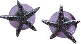 Swarovski Silver Crystal Earrings