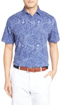 Peter Millar Men's Crown Paisley Polo