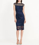 Lauren Ralph Lauren Lace Midi Sheath Dress