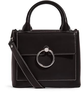 Claudie Pierlot Small Leather Saddle Stitch Bag