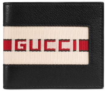 Gucci Logo Leather Wallet