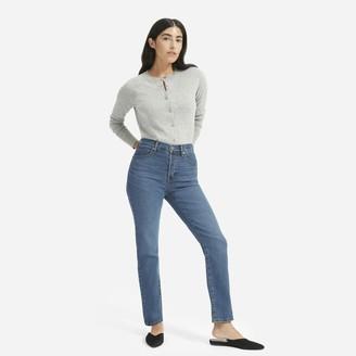 Everlane The Authentic Stretch High-Rise Cigarette Jean