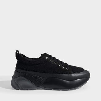 Stella McCartney Eclypse Sneakers Laces In Black Polyester