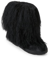 BearPaw Black Boetis II Real Fur Boots