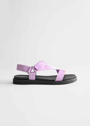 And other stories Criss Cross Strap Sandals