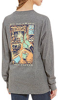 Lauren James Best Seat In The House Long-Sleeve Knit Graphic Tee