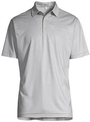 Peter Millar Villa Tile Jersey Polo Shirt