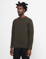 Barbour Netherby Crew Neck Jumper Green