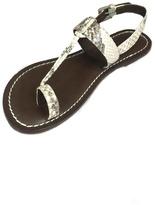 Bernardo Snake Skin Sandal