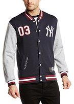 Majestic Men's Yankees Lockler Loop Back Fleece Jacket