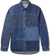 Mcq Alexander Mcqueen - Patchwork Denim Shirt