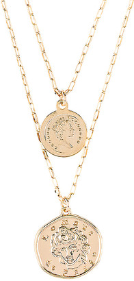 Natalie B x REVOLVE Lomour Double Coin Necklace