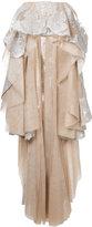 Mikael D. embellished peplum skirt