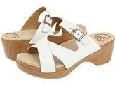 Dansko Sela Crinkle Patent (White Crinkle Patent) - Footwear