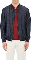 John Varvatos MEN'S CHAMBRAY BOMBER JACKET