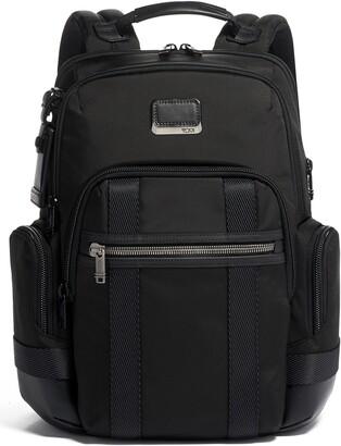 Tumi Alpha Bravo Nathan Black Expandable Backpack