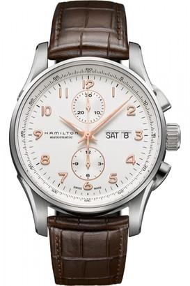 Hamilton Mens Jazzmaster Maestro Automatic Chronograph Watch H32766513