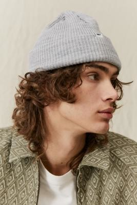 Obey Grey Bold Beanie - Grey ALL at Urban Outfitters