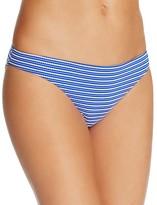 Shoshanna Striped Ring Bikini Bottom