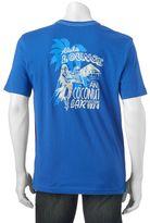 """Caribbean Joe Men's Back-Print """"Aloha Lounge"""" Tee"""