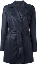 Drome belted coat - women - Lamb Skin/Cotton - S
