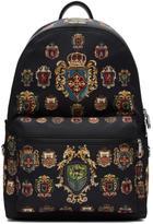 Dolce & Gabbana Black Crest Backpack