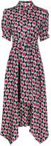 Diane von Furstenberg geometric-print midi shirtdress
