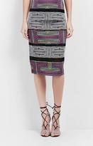 Nicole Miller Mola Maze Pencil Skirt