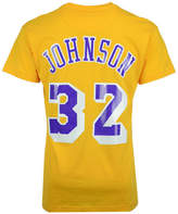 Mitchell & Ness Men's Magic Johnson Los Angeles Lakers Hardwood Classic Player T-Shirt