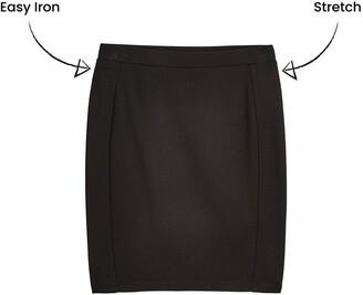 Very Girls Jersey School Tube Skirt (2 Pack) - Black