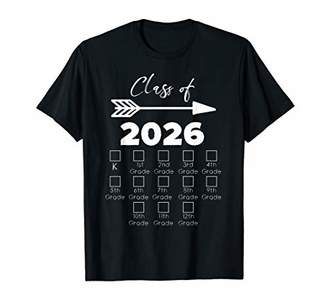 with me. Class of 2026 Grow Shirt With Space For Checkmarks T-Shirt