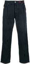 Vivienne Westwood relaxed pin stripe trousers