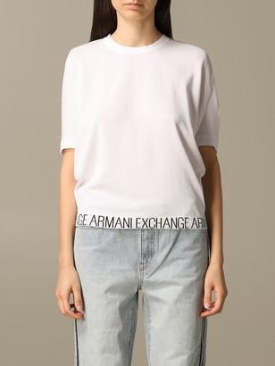 Armani Collezioni Armani Exchange Sweater Armani Exchange Top With Logo