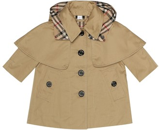 BURBERRY KIDS Baby cotton trench coat