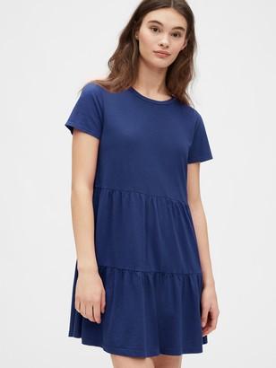 Gap Tiered T-Shirt Dress in Modal-Cotton